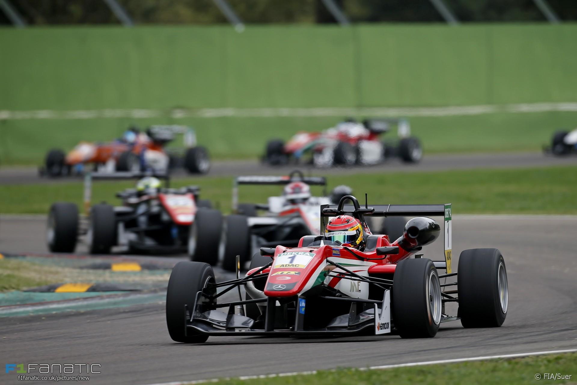 Lance Stroll Prema European F3 Imola 2016 Racefans