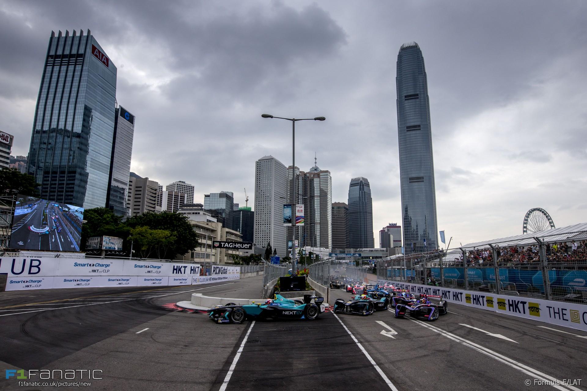 Formula E, Hong Kong, 2016