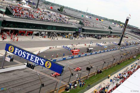 Start, Indianapolis, 2005