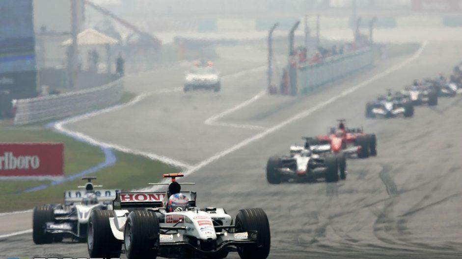 Jenson Button, BAR, Sepang, 2005