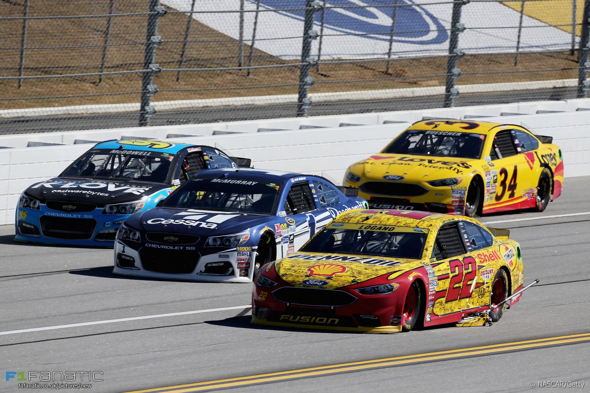 Joey Logano, NASCAR, Talladega, 2016