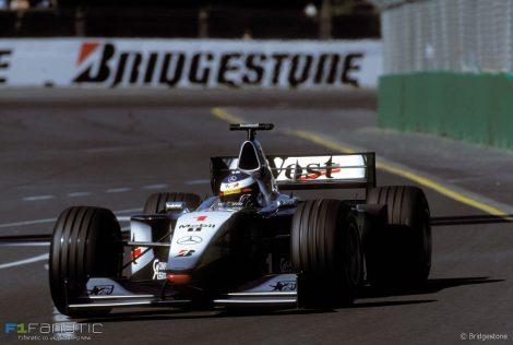 Mika Hakkinen, McLaren, Melbourne, 1999