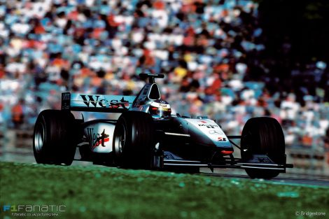 Mika Hakkinen, McLaren, 1999