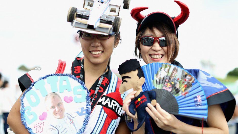 Fans, Suzuka, 2016