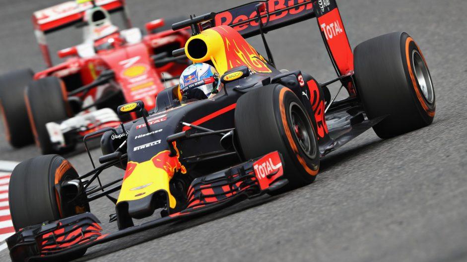 Daniel Ricciardo, Red Bull, Suzuka, 2016