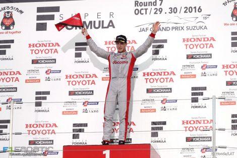 Stoffel Vandoorne, Japanese Super Formula, Suzuka, 2016