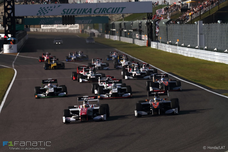 Start, Japanese Super Formula, Suzuka, 2016
