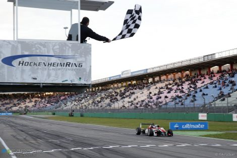 Lance Stroll, Prema, European Formula Three, Hockenheimring, 2016