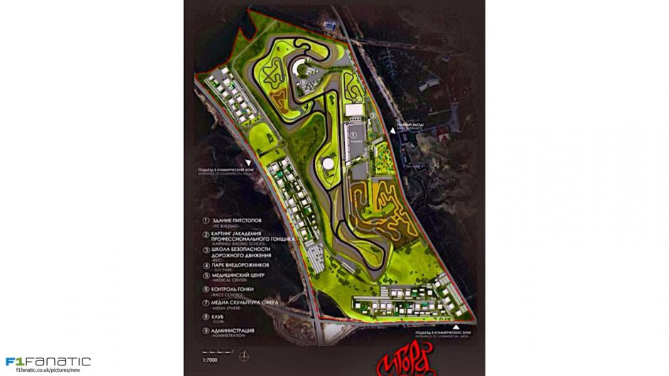 Tilke designing new circuit in Russia