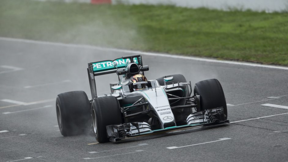 Wehrlein completes latest Pirelli test after Hamilton pulls out