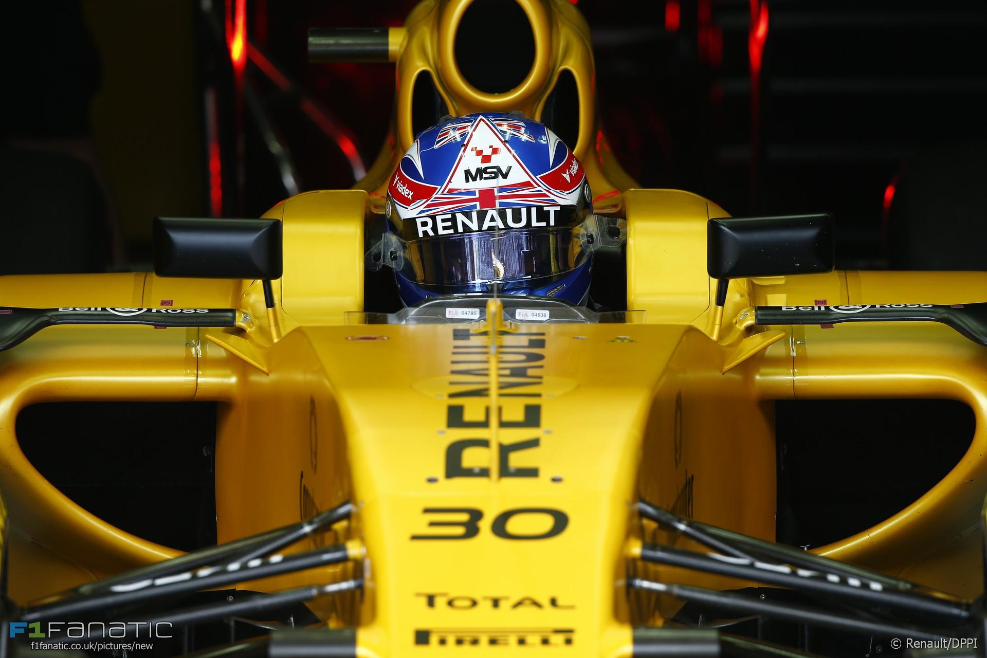 Jolyon Palmer, Renault, Interlagos, 2016