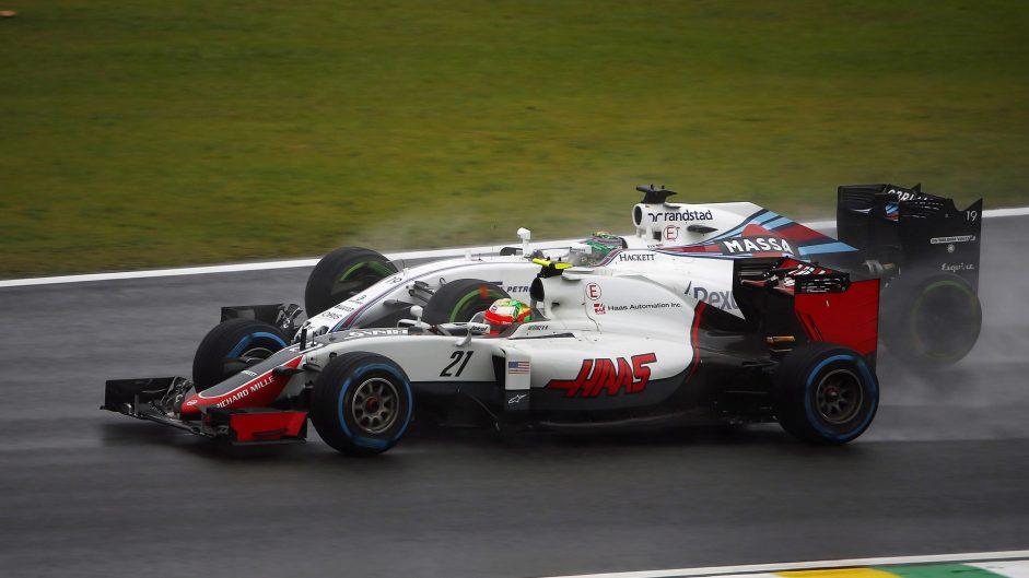 Esteban Gutierrez, Haas, Interlagos, 2016