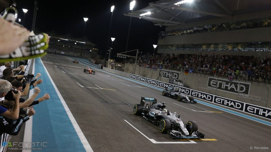 2016 Abu Dhabi Grand Prix team radio transcript