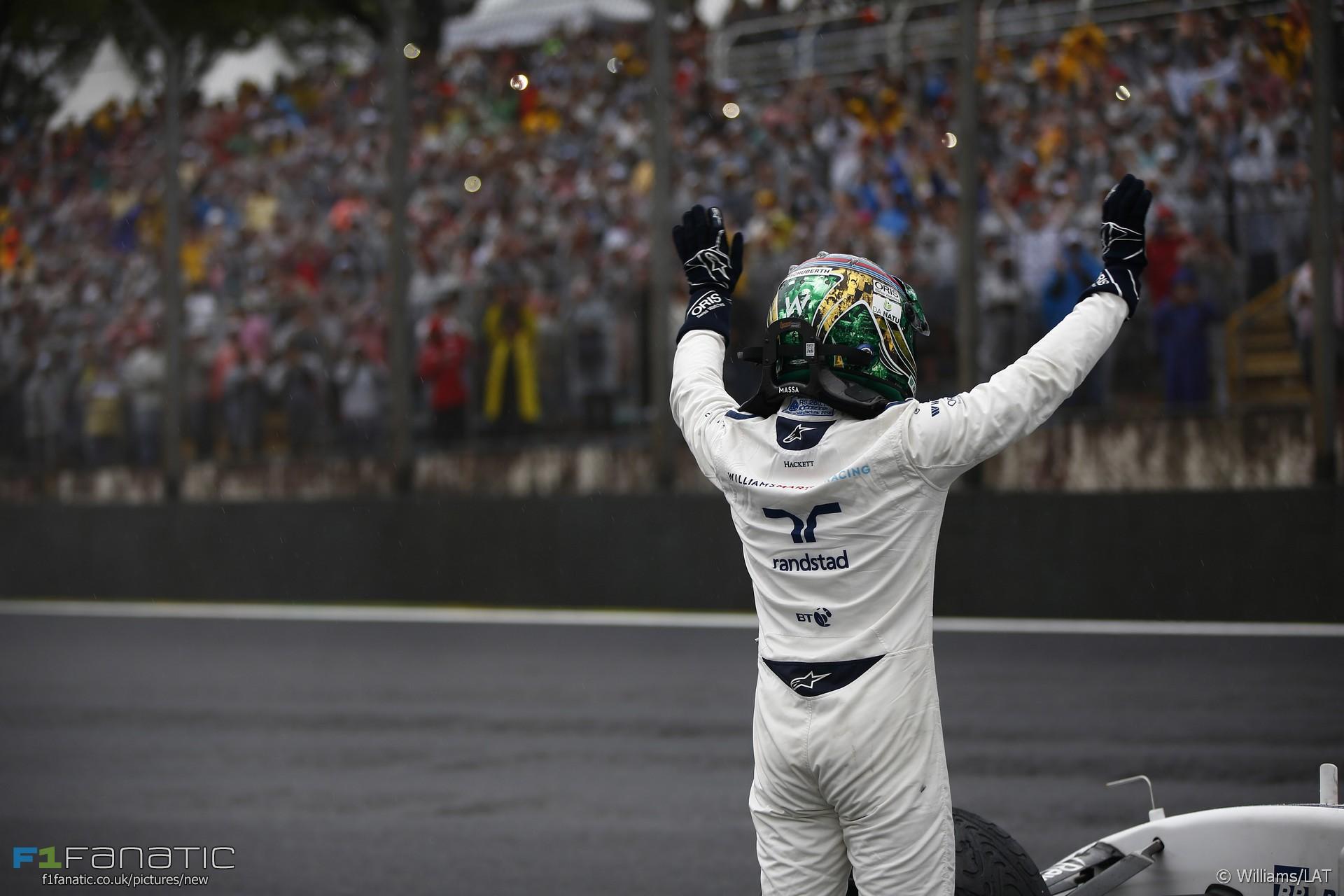 Felipe Massa, Williams, Interlagos, 2016