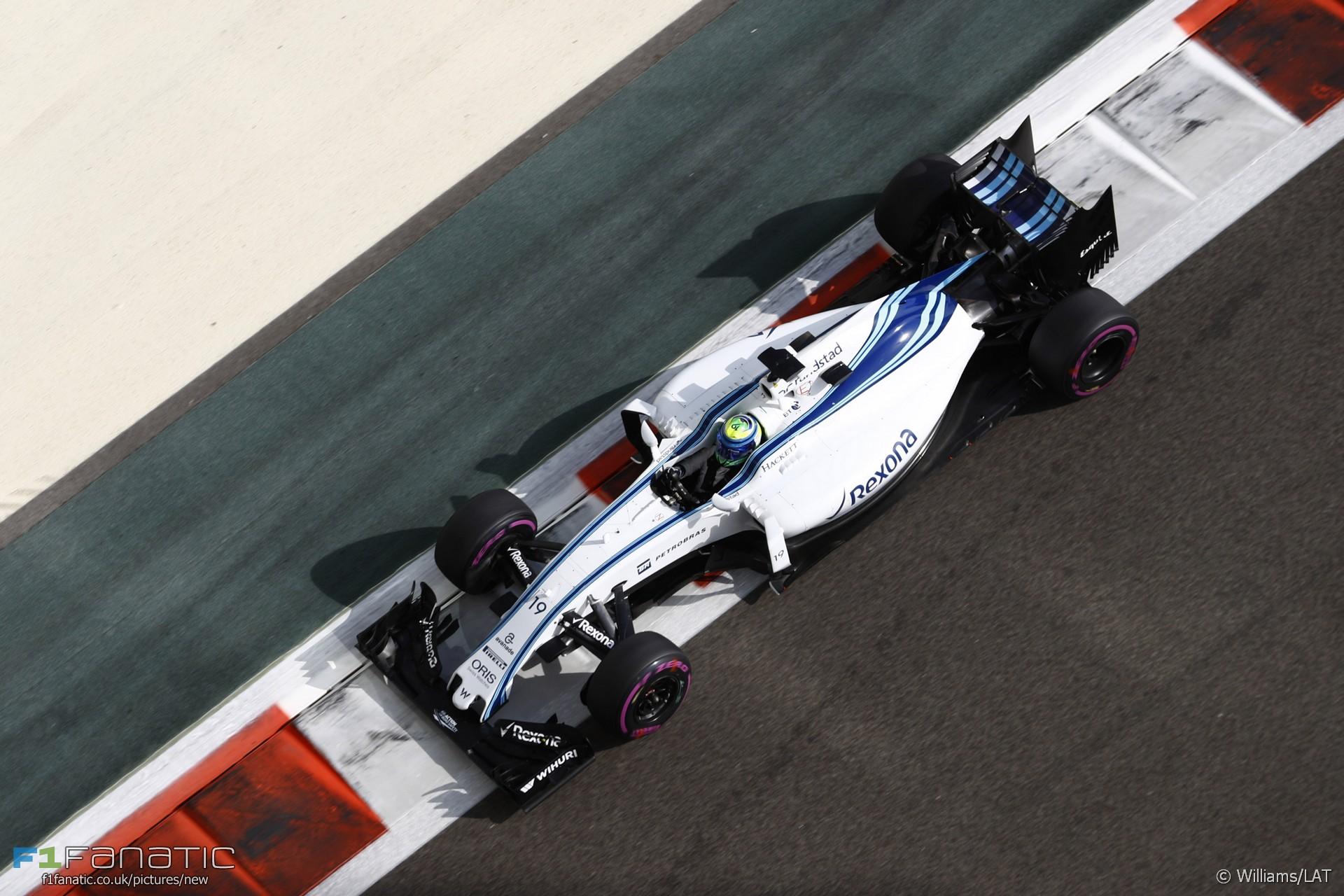 Felipe Massa, Williams, Yas Marina, 2016