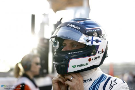 Valtteri Bottas, Williams, Yas Marina, 2016