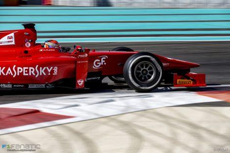 Antonio Fuoco, Prema, Yas Marina, GP2, 2016