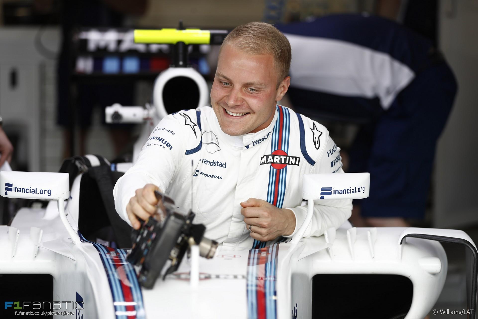 Valtteri Bottas, Williams, Interlagos, 2016