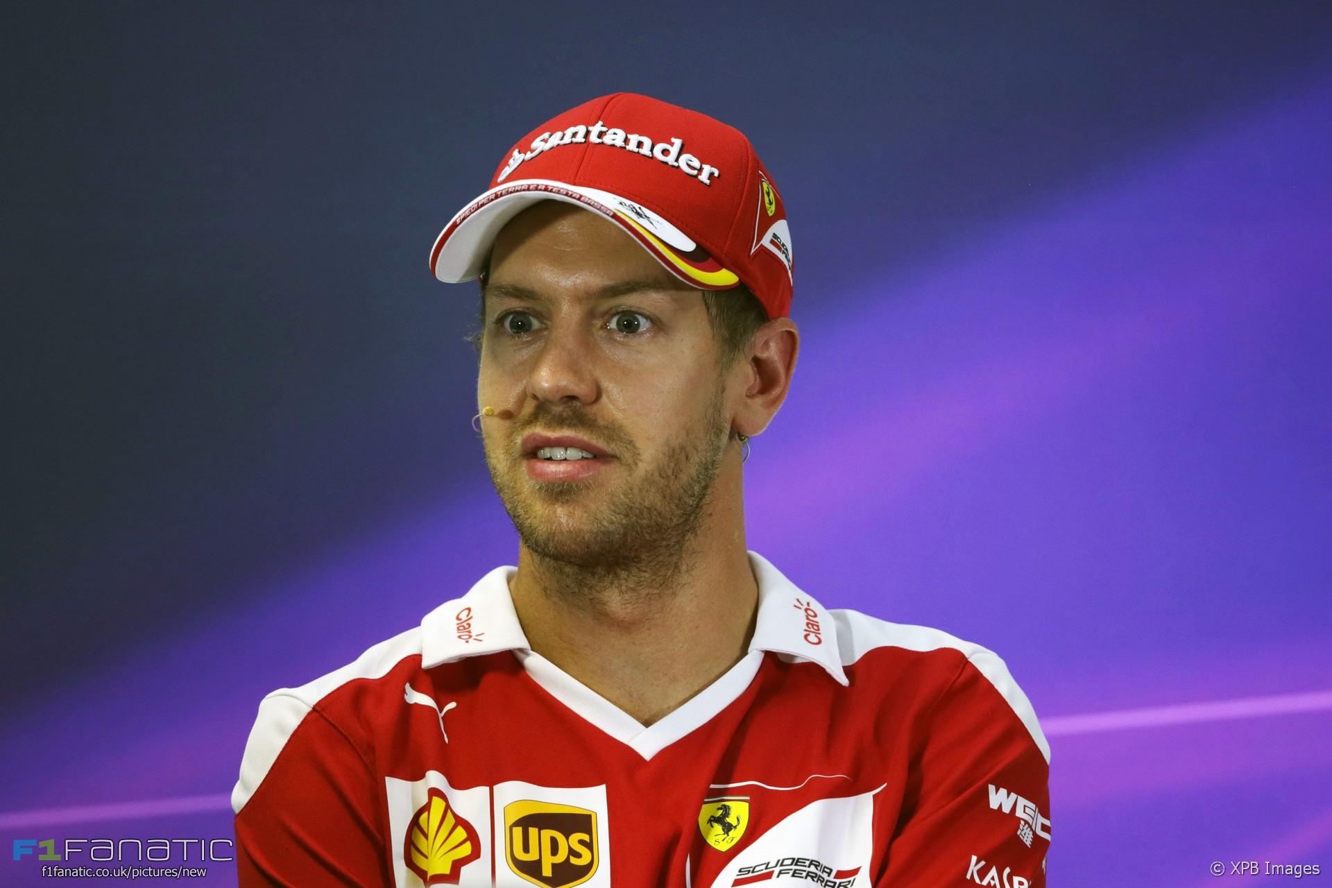 Sebastian Vettel, Ferrari, Interlagos, 2016