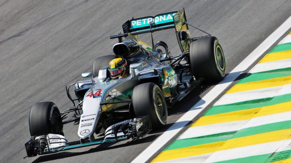 Hamilton leads Verstappen in opening session