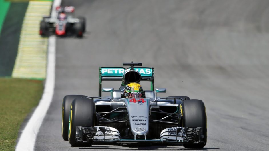 Hamilton quickest again in slower session