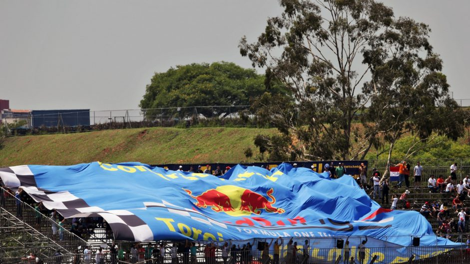 Red Bull fans, Interlagos, 2016