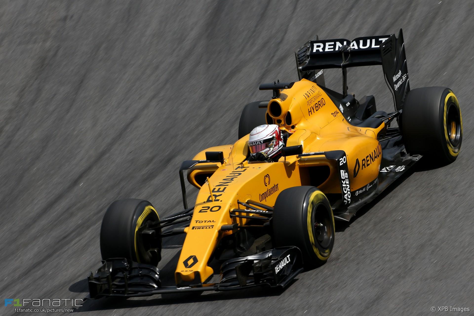 Kevin Magnussen, Renault, Interlagos, 2016