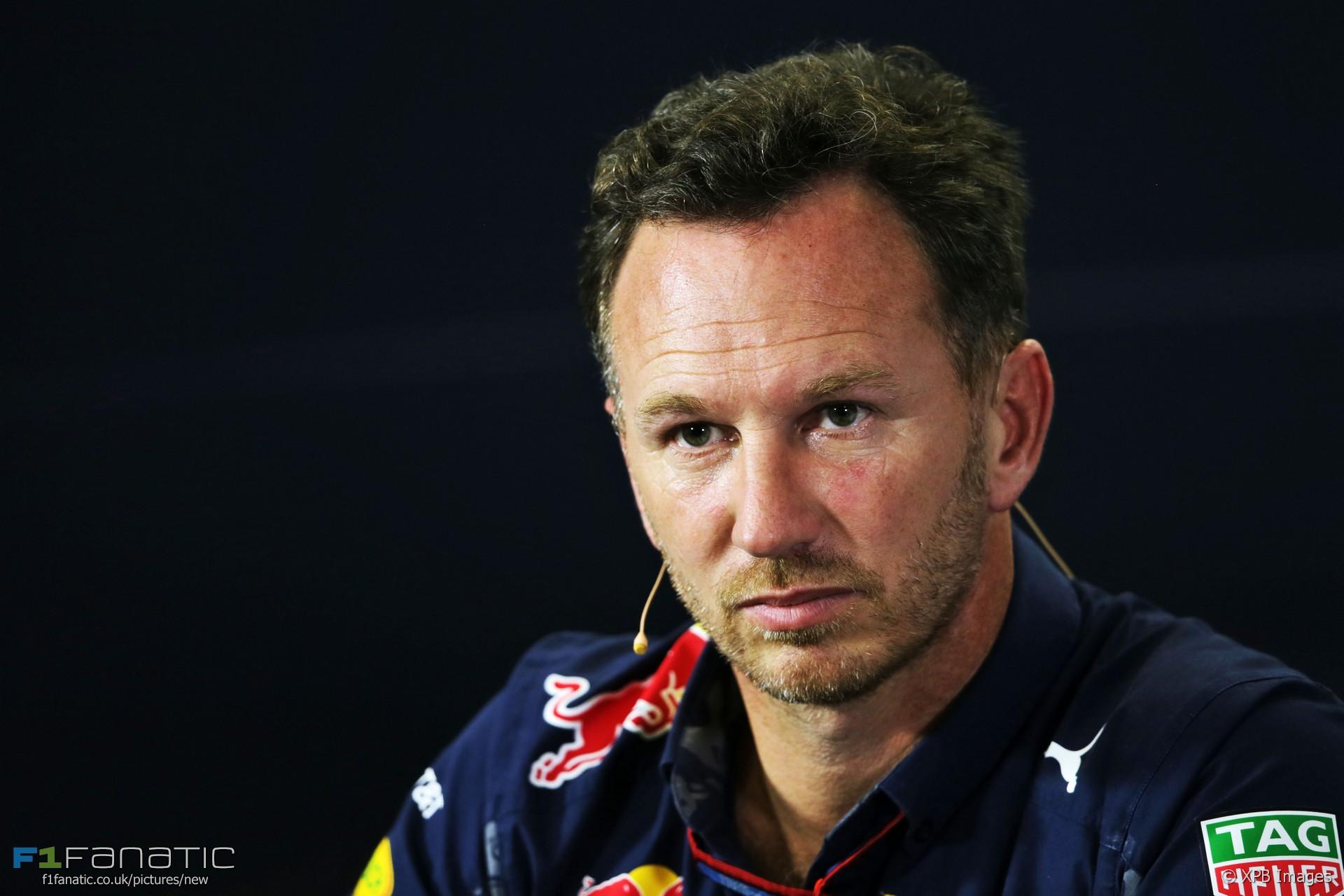 Christian Horner, Red Bull, Interlagos, 2016