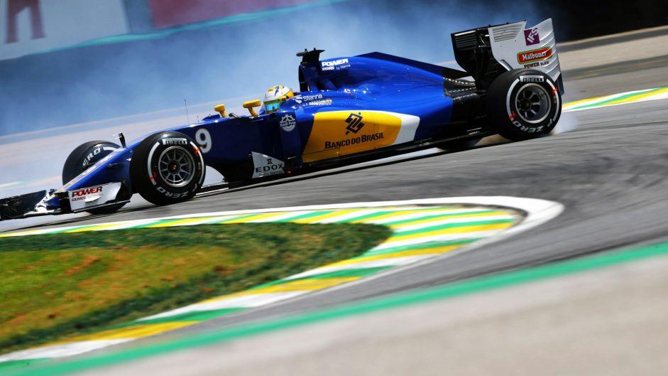 Marcus Ericsson, Sauber, Interlagos, 2016