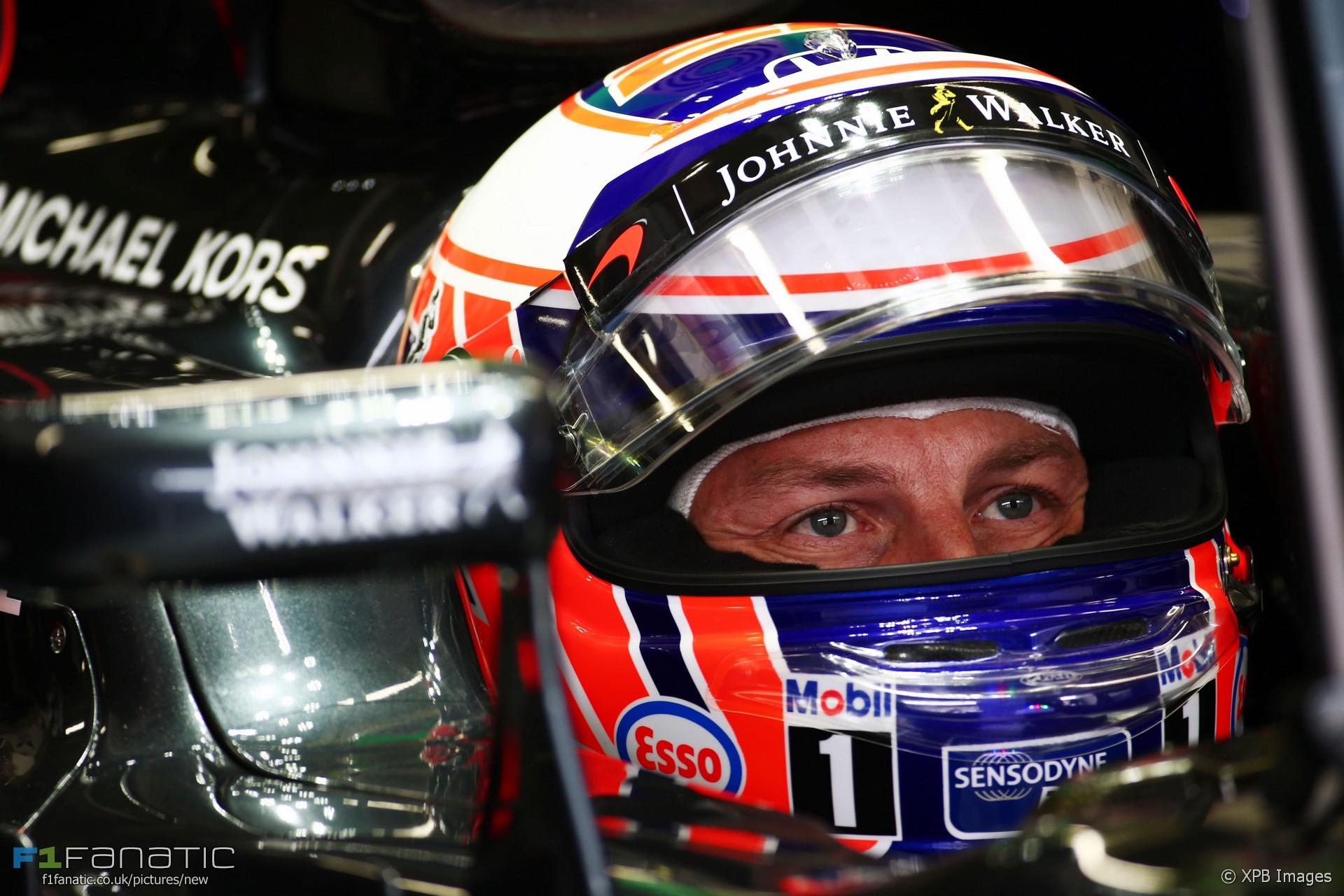 Jenson Button, McLaren, Interlagos, 2016