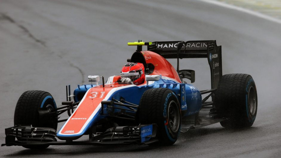 Esteban Ocon, Manor, Interlagos, 2016