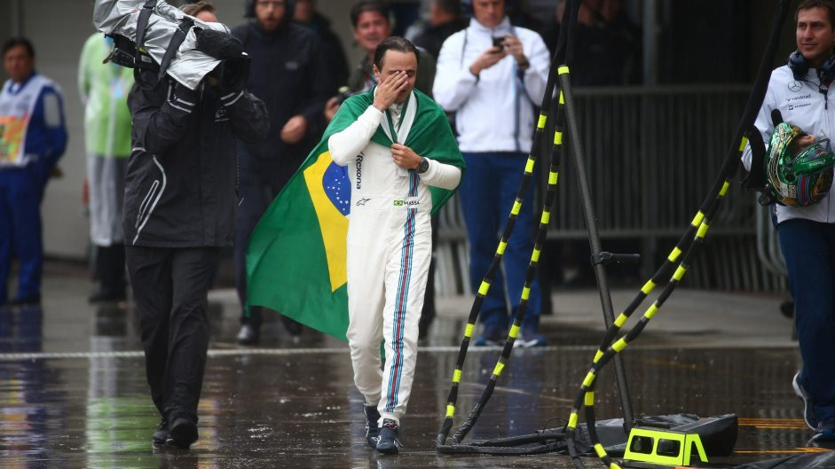 Emotional Massa thanks his home crowd