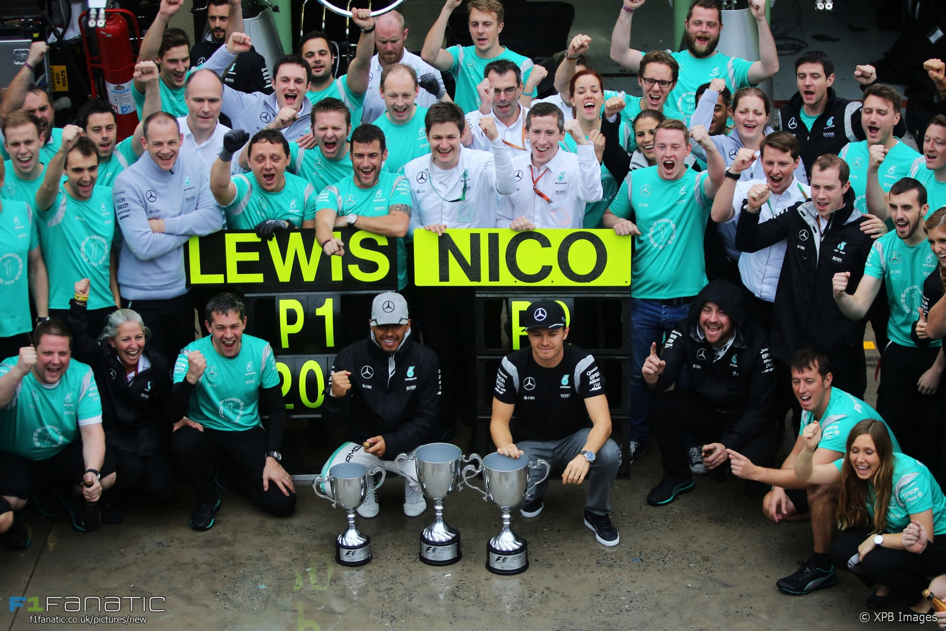 Lewis Hamilton, Nico Rosberg, Mercedes, Interlagos, 2016