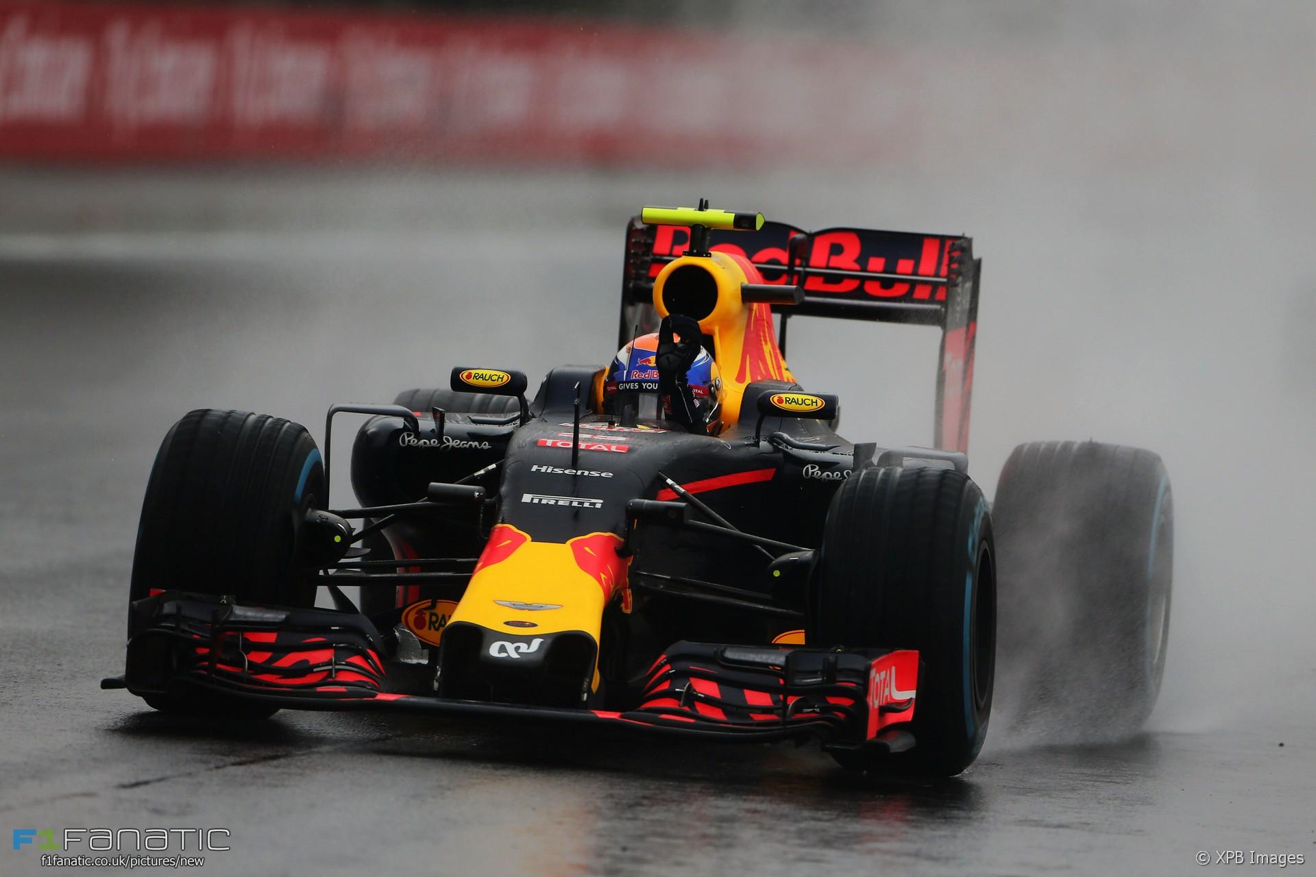 Max Verstappen, Red Bull, Interlagos, 2016