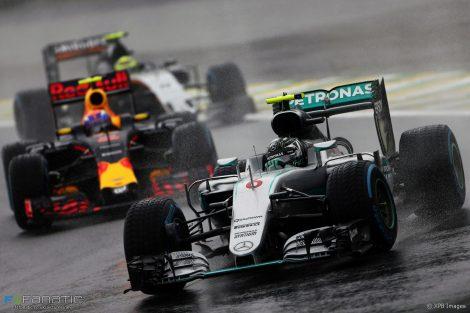 Nico Rosberg, Mercedes, Interlagos, 2016