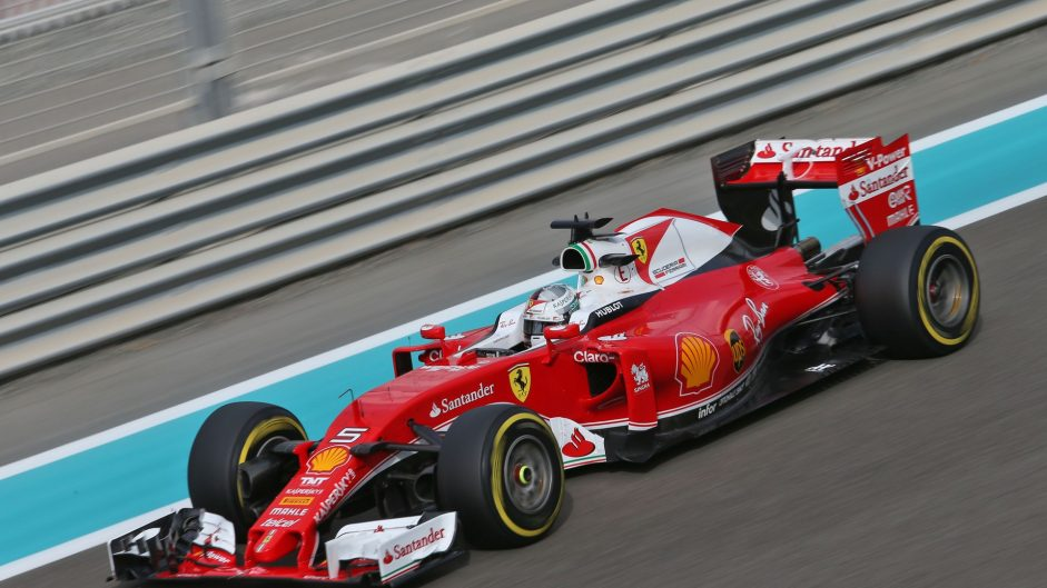 Vettel quickest as title rivals play it safe