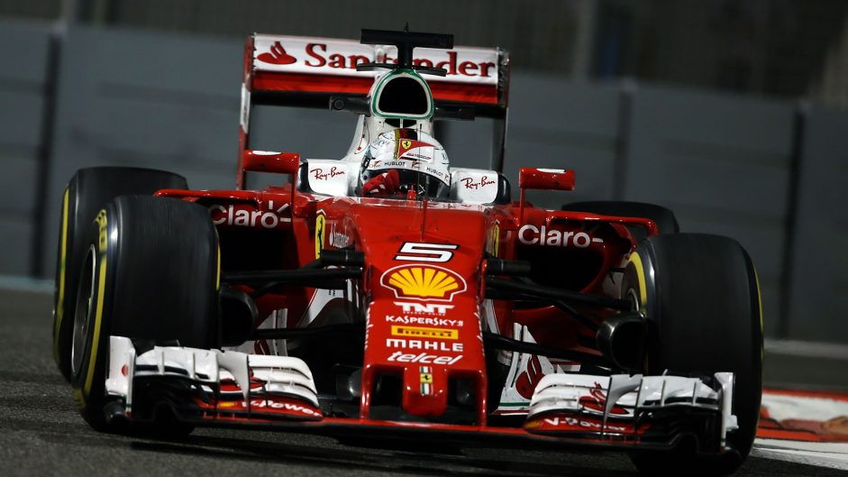 Vettel doesn't expect Ferrari to fight title contenders