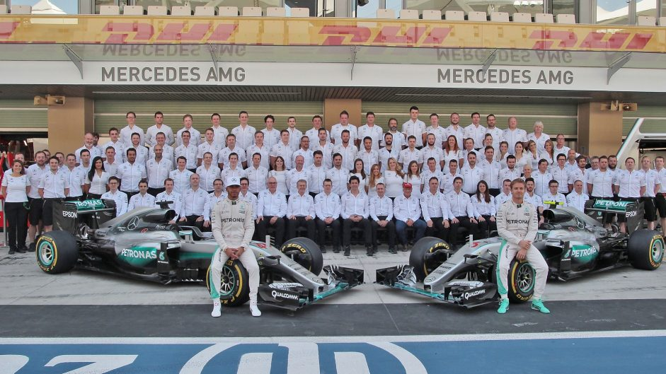 Mercedes crush the competition but lose their champion