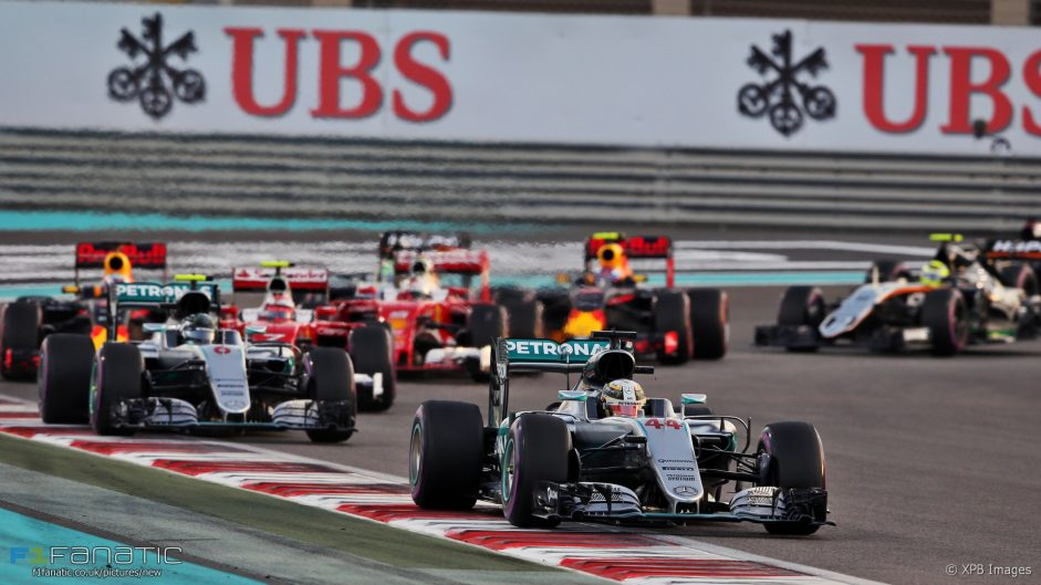 Rate the race: 2016 Abu Dhabi Grand Prix