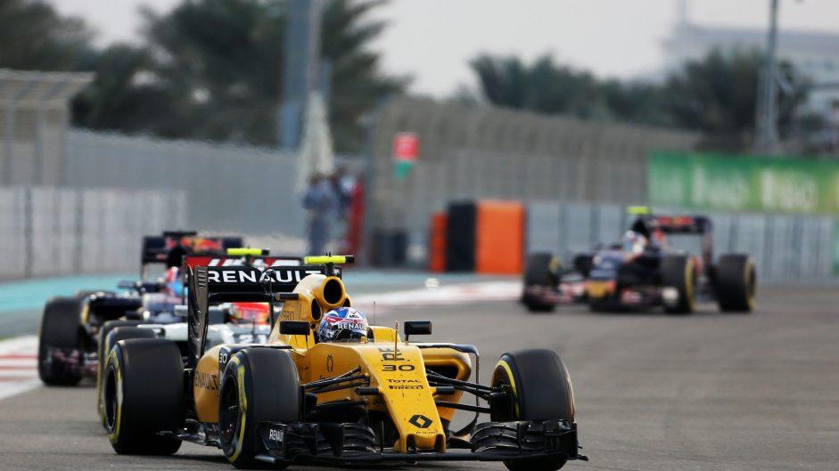 Jolyon Palmer, Renault, Yas Marina, 2016