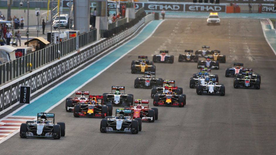 2016 Abu Dhabi Grand Prix driver ratings