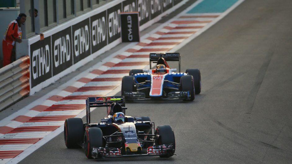 Carlos Sainz Jnr, Toro Rosso, Yas Marina, 2016