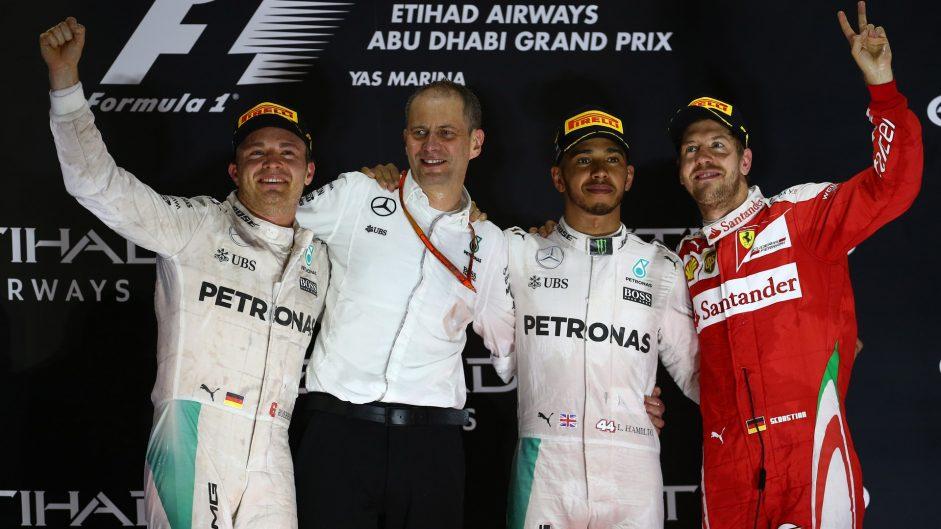 Lewis Hamilton, Mercedes, Yas Marina, 2016