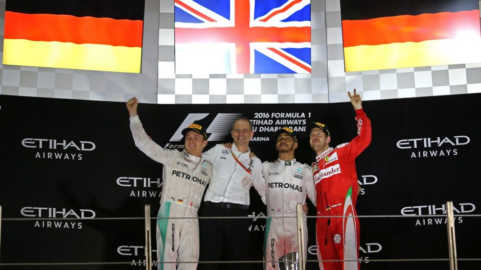 2016 Abu Dhabi Grand Prix race result