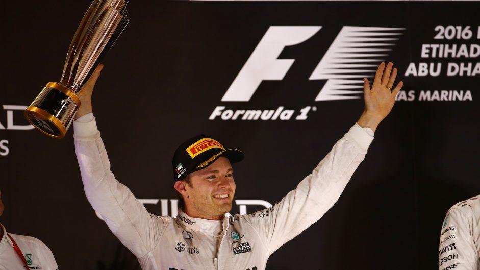 Nico Rosberg, Mercedes, Yas Marina, 2016