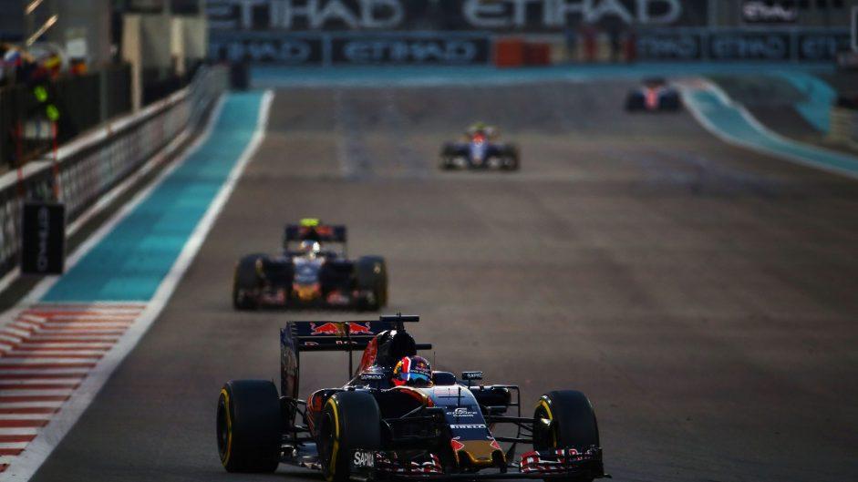 Daniil Kvyat, Toro Rosso, Yas Marina, 2016
