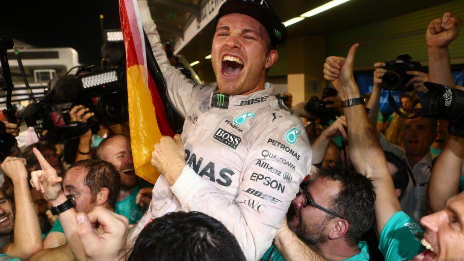 Rosberg ends longest-ever wait for championship