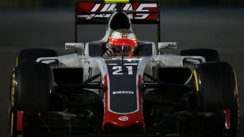 Esteban Gutierrez, Haas, Yas Marina, 2016