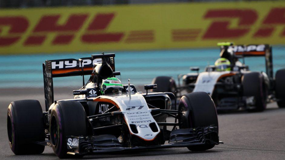 Nico Hulkenberg, Force India, Yas Marina, 2016