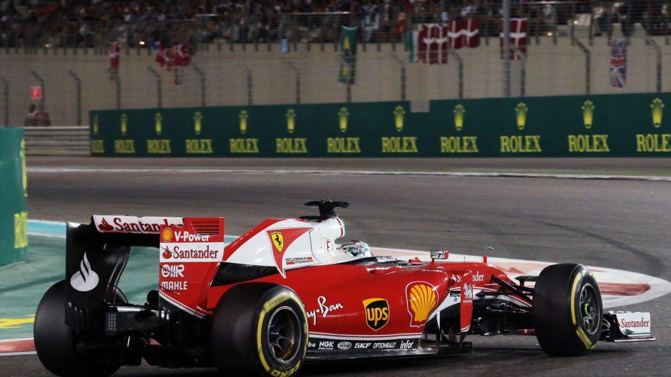 Sebastian Vettel, Ferrari, Yas Marina, 2016